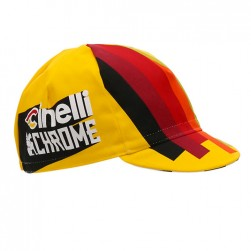 2017 Team Cinelli Chrome Yellow Cycling Cap