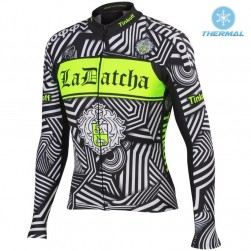 2016 Tinkoff Training Black Thermal Cycling Long Sleeve Jersey