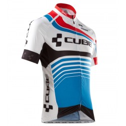 2016 Cube Teamline White-Blue Cycling Jersey