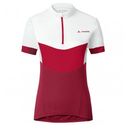 2017 Vaude Advanced II Women's White-Red Cycling Jersey