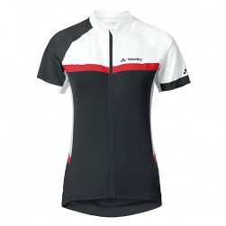 2017 Vaude Pro II Women's White-Red-Black Cycling Jersey