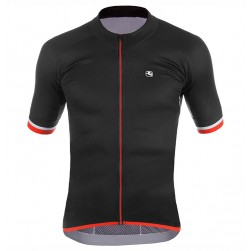 2017 Giordana Silver Line Black-Red Cycling Jersey