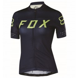 2017 Team FOX Women's Black-Yellow Cycling Jersey