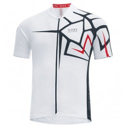 2017 Gore Element Adrenaline 4.0 White Cycling Jersey