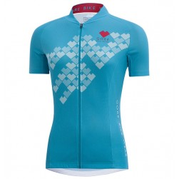 2017 Gore Element Digi Women's Blue Cycling Jersey