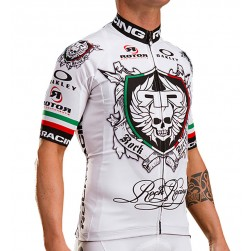 2017 Rоck Racing Italia White Cycling Jersey