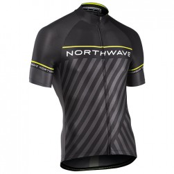 2017 Northwave Logo 3 Black-Grey Cycling Jersey