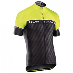 2017 Northwave Logo 3 Yellow Cycling Jersey