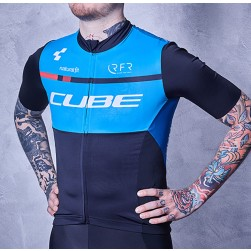 2018 Team Cube Blue Cycling Jersey