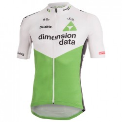 2018 Dimension Data White Cycling Jersey