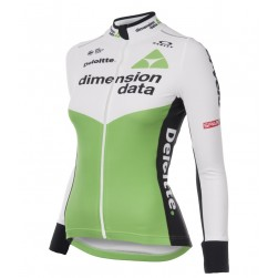 2018 Dimension Data Women Long Sleeve Cycling Jersey