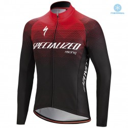 2018 SPED SL TEAM EXPERT Thermal Long Sleeve Cycling Jersey