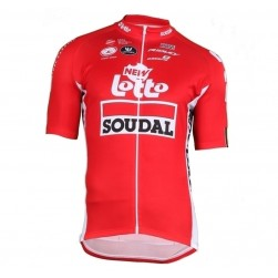 2018 Lotto Soudal Tour De France Red Cycling Jersey