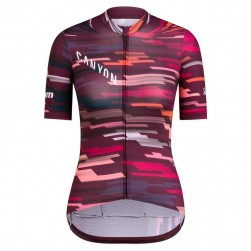 2019 Canyon Red Women's Cycling Jersey