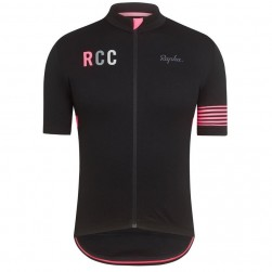2019 Rapha RCC Black-Pink Cycling Jersey