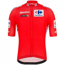 2019 Tour de Spain Red Cycling Jersey