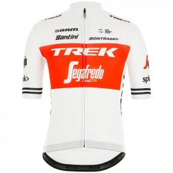 2019 Trek Factory Racing TDF White Cycling Jersey