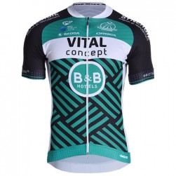 2019 Vital Team Green Cycling Jersey