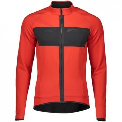 2019 Scott RC FF Red Long Sleeve Cycling Jersey