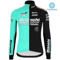 2019 Bianchi Countervail Thermal Long Sleeve Cycling Jersey
