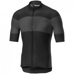 2019 Casteli Ruota Black Cycling Jersey