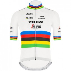 2020 Trek Segafredo World Champion White Cycling Jersey