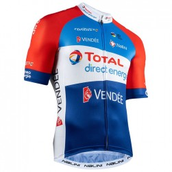 2020 TOTAL Direct Energie Cycling Jersey