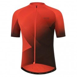 2021 Gore Fade Red Cycling Jersey