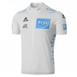 2016 Tour De France Young Rider Classification White Cycling Jersey