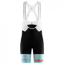 2018 Craft Route Blue Cycling Bib Shorts