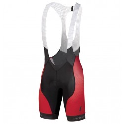 2018 SPED IDT Red Cycling Bib Shorts