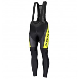 2019 Scott RC Black-Yellow Cycling Bib Pants