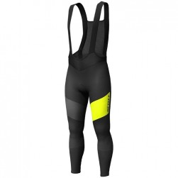2019 Scott RC FF Black-Yellow Cycling Bib Pants