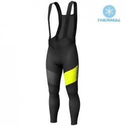2019 Scott RC FF Black-Yellow Thermal Cycling Bib Pants