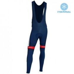 2019 Total Blue Thermal Cycling Bib Pants
