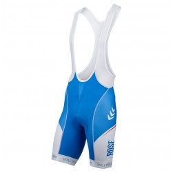 2016 Rose Retro Blue-White Cycling Bib Shorts