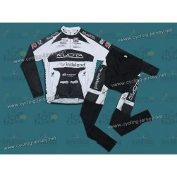 2010 Kuota Indeland Thermal Team Cycling Long Sleeve Jersey and Pants Set