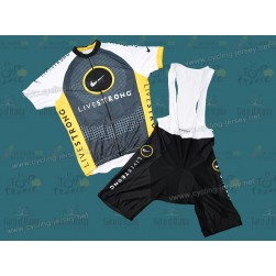 10 Livestrong Team Cycling Jersey and Bib Shorts Set