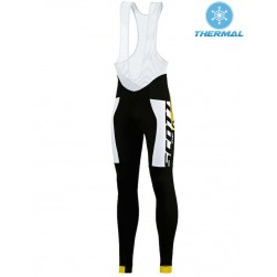 2015 Scott RC Pro Black-Yellow Thermal Cycling Bib Pants