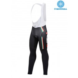 2015 Cаstelli Sidi Dino Black Thermal Cycling Bib Pants