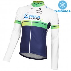 2015 Orica GreenEdge Thermal Cycling Long Sleeve Jersey