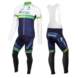 2015 Orica GreenEdge Long Sleeve Cycling Jersey And Bib Pants