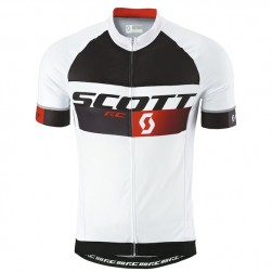 2015 Scott RC Pro Black-White-Red Cycling Jersey