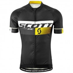 2015 Scott RC Pro Black-Yellow Cycling Jersey