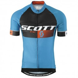 2015 Scott RC Pro Black-Blue Cycling Jersey