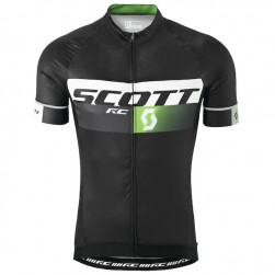 2015 Scott RC Pro Black-Green Cycling Jersey
