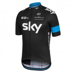 2015 Skу Pro Team Black Cycling Jersey