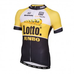 2015 Lotto NL-Jumbo Yellow Cycling Jersey