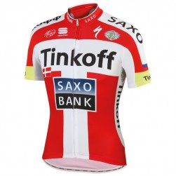 2015 Tinkoff-Saxo Bank Danish Champion Cycling Jersey