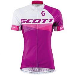 2015 Scott RC White-Purple Women's Cycling Jersey